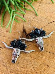 Black Meechum Earrings