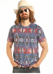 Rodeo Time Aztec Tee