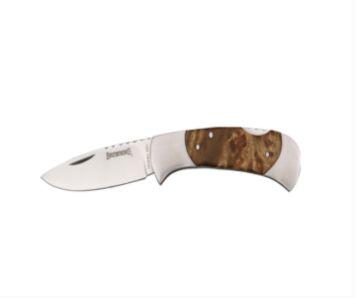 Browning Burl Wood Folding Lock Back Pocket Hunting