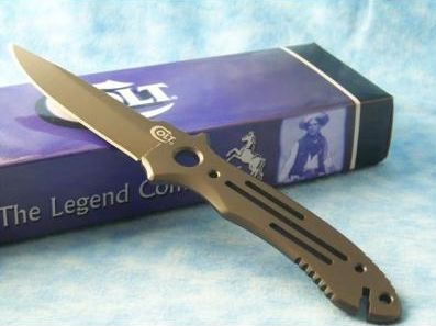 Colt Titanium Fixed Blade Knife Gone Walkabout Australia