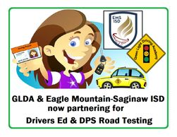 Driver Education Grapevine Coppell Roanoke EMSISD Boyd DPS authorized Road Test 3rd Party License