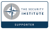 The security Institute supporters logo.