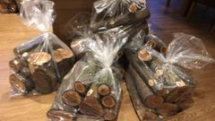 Mixed Bag of Yew logs. ready to turn and various sizes. Free shipping (UK only!)
