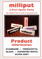 Milliput 2 part epoxy putty