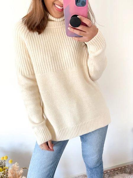 Malibu Wool Blend Knit in Cream