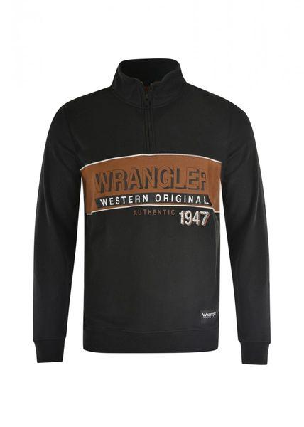 Wrangler Mens Daniel 1/4 zip Pullover