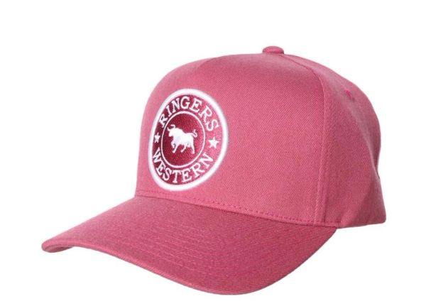 Ringers Western Grover Wool Baseball Cap - Cosmo