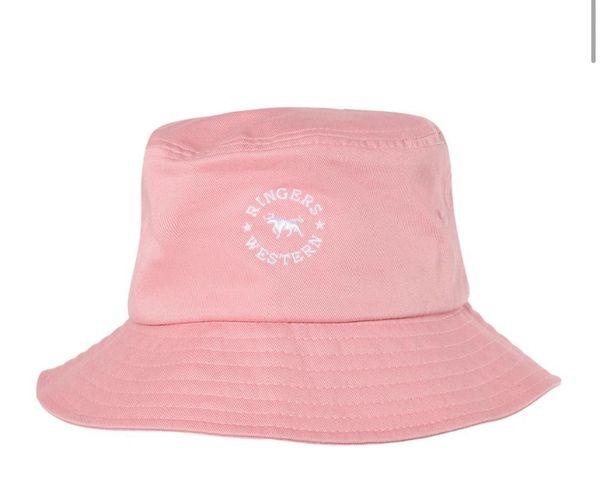 Ringers Western Short Kids Bucket Hat Pink