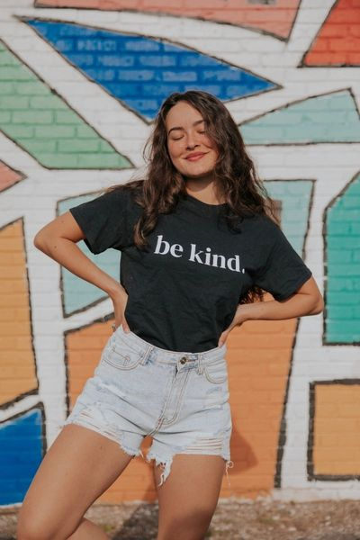 be kind 100% cotton tee $1 donate to Beyond blue
