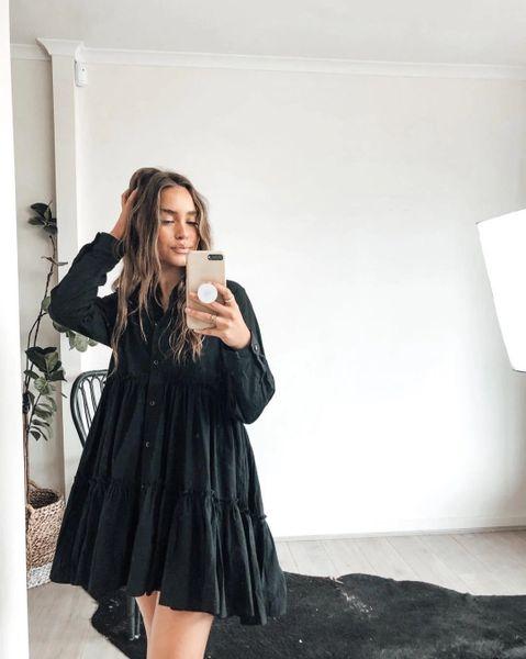 Little Black Shirt dress