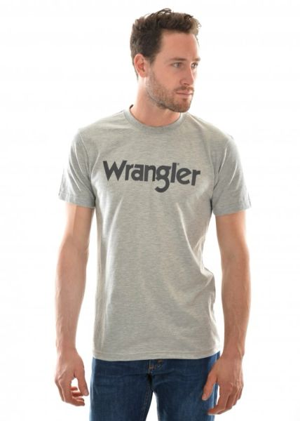 Wrangler Tee Grey Marle