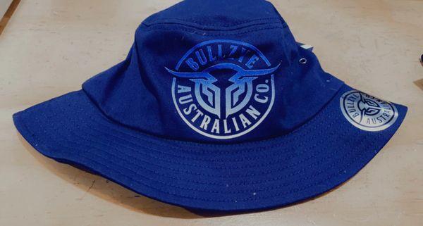 Bullzye Bull Ring Bucket Hat Navy