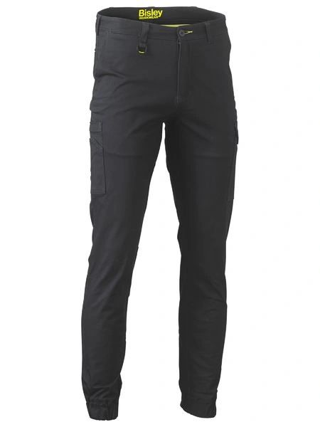 Bisley Stretch Cotton Cargo Cuffed Pants
