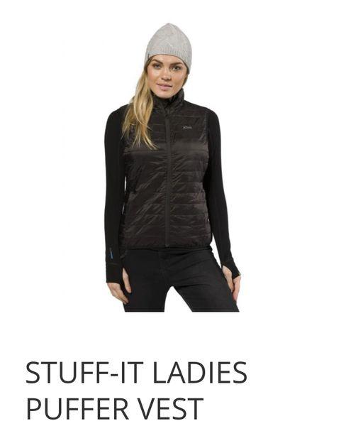XTM Stuff It Ladies Puffer Vest