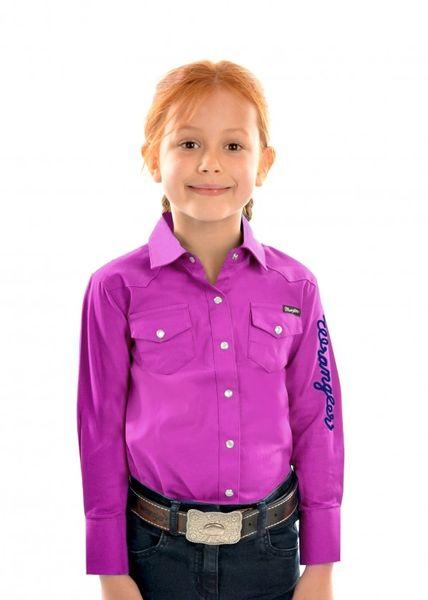 Wrangler Kids Shirt Magenta