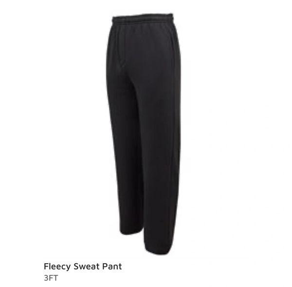 JBs Wear Fleecy Sweat Pants Black