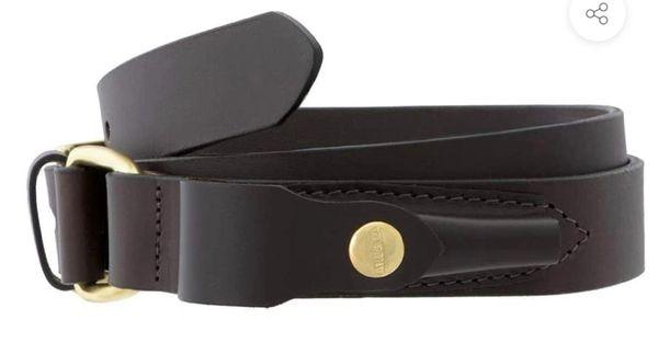 Akubra Stockman Belt Brown