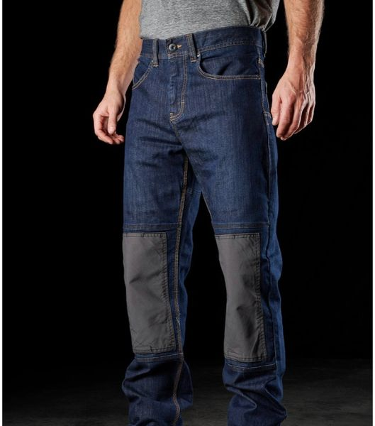 FXD WD-1 Denim Work Pants with Knee Inserts