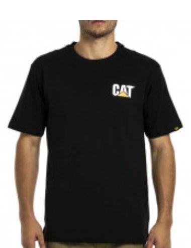 CAT Trademark Tee Black