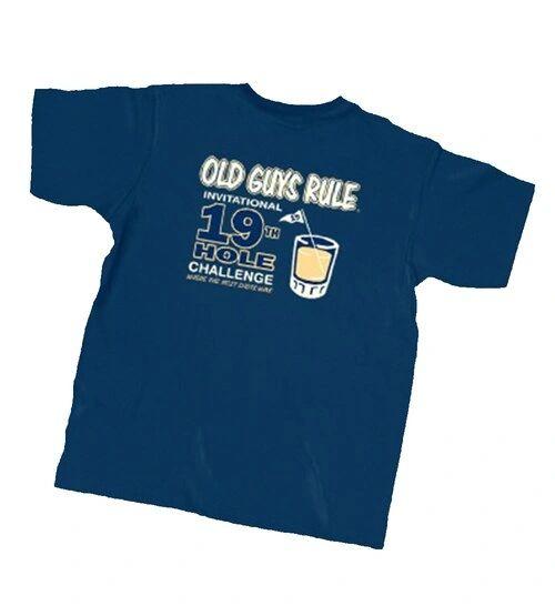 Old Guys Rule 19th Hole Golf Tee