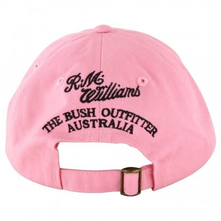 RM Williams Steers Head Classic Sytle Logo Cap Navy or Pink