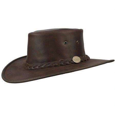 BARMAH SQUASHY FULL GRAIN HAT