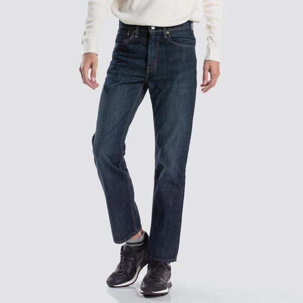 Levi's Mens 516 Slim Straight Fit Jeans Dark Petrol
