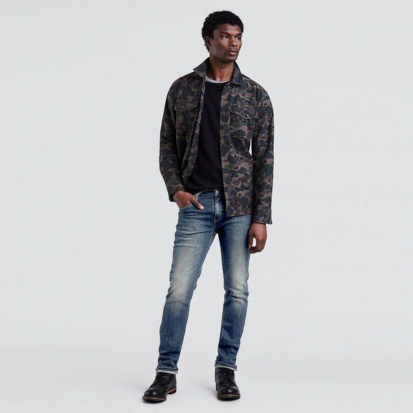 Levi's Mens 511 Slim Fit Jeans Canyon Dark