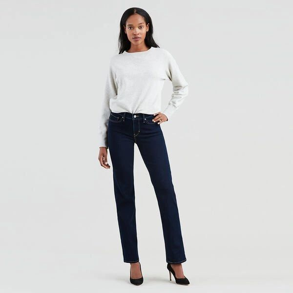 Levis Ladies 314 Shaping Straight Jean