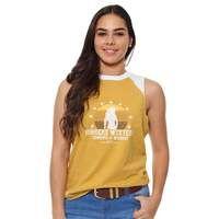 Ringers Sedona Ladies Muscle Tank Mustard