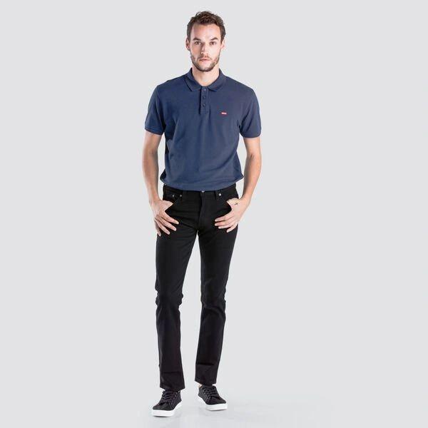 Levis Mens 511 Slim Fit Black