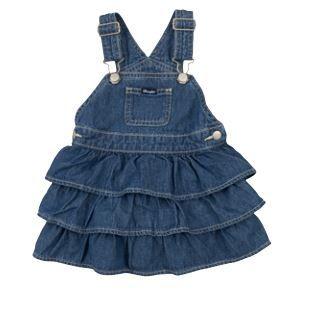 Wrangler Baby Girls Ruffle Dress