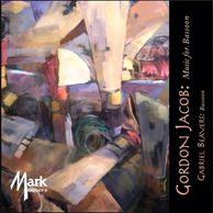 Gordon Jacob Music For Bassoon, Gabriel Beavers Mark Records Mark Masters