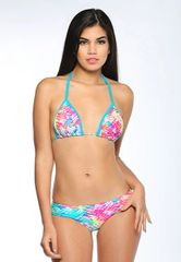 G2026 - Bikini- Tropical and Ocean Blue