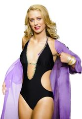 G2034 - One Piece Binding Plunge- Panther Black and Tropic Jungle print