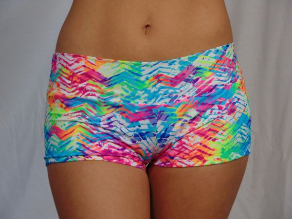 G2008 - Shorts - Tropical Print