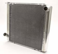 "AFCO Standard Aluminum Radiator - 19"" x 22"" x 3"" - Ford"
