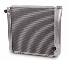 "AFCO Standard Aluminum Radiator - 19"" x 22"" x 3"" - Chevy"