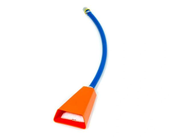 "ATL 3/8"" -06 AN Duck Foot Fuel Trap Pickup w/ Filter"