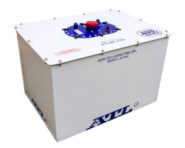 ATL Dirt Late Model Sport Fuel Cell - 32 Gallon - White Can