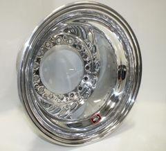 """Weld Wide 5 XL Aluminum Inner Beadlock Wheel - 15"""" x 14"""" - 5"""" Back Spacing"""