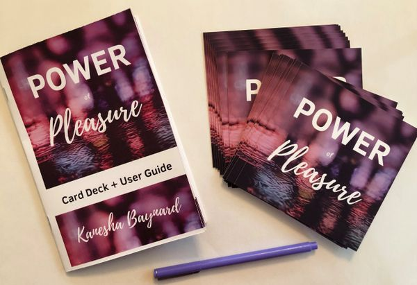 Power of Pleasure Card Deck + Electronic Guidebook