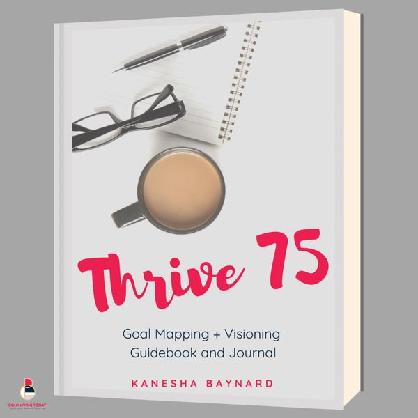 Thrive 75 - Goal Mapping + Productivity System (downloadable eBook)