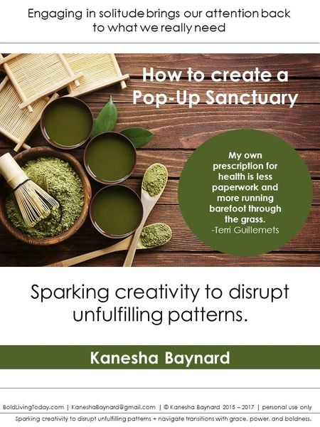 How to create a Pop-Up Sanctuary [eGuide]