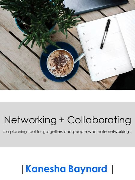 Networking + Collaborating Planning Tool (eProduct)
