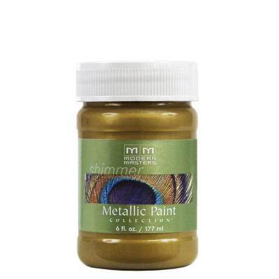 MODERN MASTERS GREEN GOLD METALLIC 6OZ ME23006