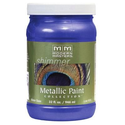 MODERN MASTERS VENETIAN BLUE METALLIC QUART ME42932