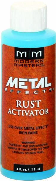 MODERN MASTERS RUST PATINA AGING SOLUTION 4OZ PA90404