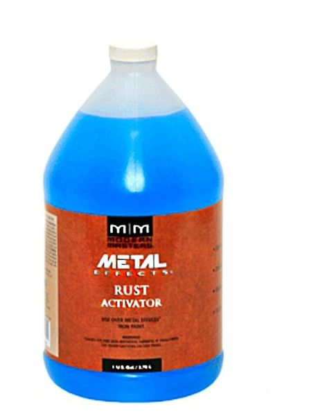 MODERN MASTERS RUST PATINA AGING SOLUTION GALLON PA904GAL