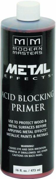 MODERN MASTERS ACID BLOCKING PRIMER FOR REACTIVE METALLIC 16OZ AM20316
